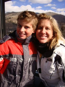 Evan and Naomi Loomis in Beaver Creek